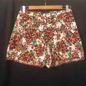 Dolls Abstract Pattern Dressy Shorts